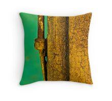 Gold among the green. Throw Pillow