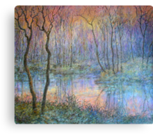 Wetlands at Sunset Canvas Print