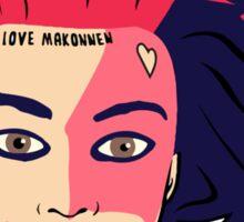 iLoveMakonnen Sticker