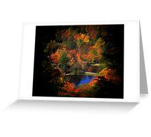 Fall Majesty Upgrade Greeting Card