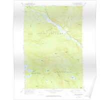 Maine USGS Historical Map Chain Of Ponds 460311 1969 24000 Poster