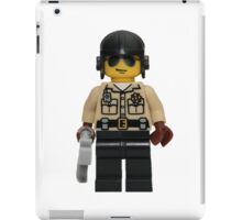 LEGO Traffic Cop iPad Case/Skin