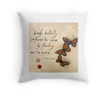 Haiku Throw Pillow