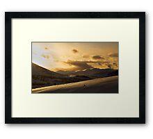 The Scottish Mountains Framed Print