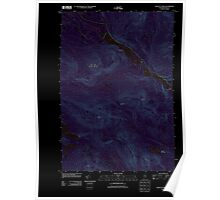 Maine USGS Historical Map Chain of Ponds 20110910 TM Inversion Poster