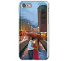 Kissing In The Rain iPhone Case/Skin