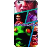 Pruppets are scary iPhone Case/Skin