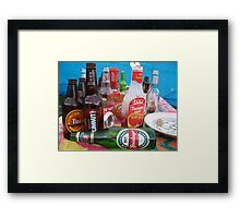 Party Party Framed Print