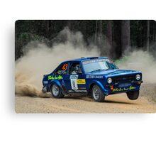 Ford Escort rally car Canvas Print