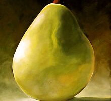 Bartlett Green Pear by ToniGrote