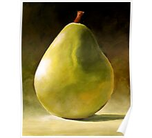 Bartlett Green Pear Poster