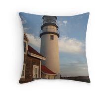 Cape Cod Lighthouse Color Throw Pillow