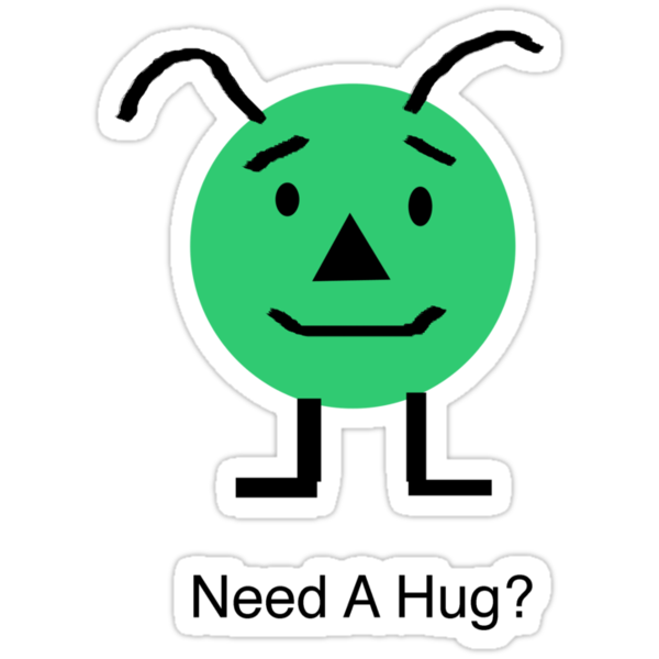 Need A Hug? by Scott Ruhs