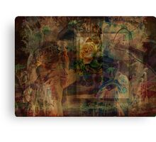 Oriental Glimpse Canvas Print