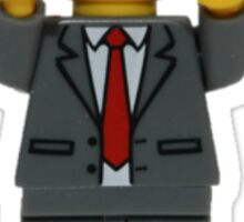 LEGO President Business Sticker