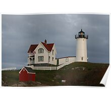 Cape Neddick Color Poster