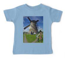 A Kinderdijk Windmill  Baby Tee