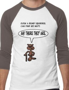 Blind Squirrel 2 Men's Baseball ¾ T-Shirt