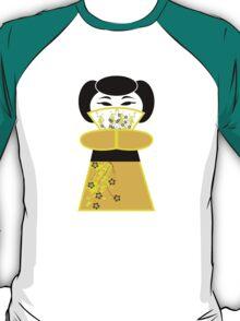 Cute 'lil Yellow Geisha T-Shirt