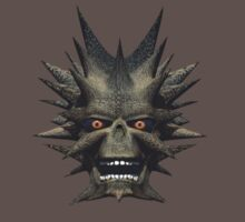 Horned Face Monster by Walter Colvin