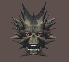 Horned Face Monster by Walter Colvin