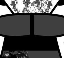 Black 'lil Geisha Girl Sticker