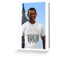 Obama ready to sign... Greeting Card