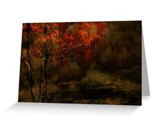 Fall Arrives Greeting Card