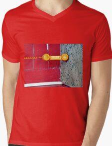 Off The Hook Mens V-Neck T-Shirt
