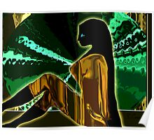 Modern Psychedelic -- The Golden Jumper Poster