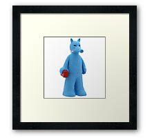 QuasiBlue Framed Print