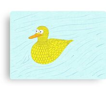 Bob the Duck! Canvas Print