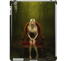 Magical red chair iPad Case/Skin