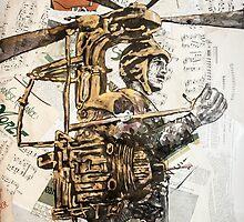 Flying maschine by Krzyzanowski Art