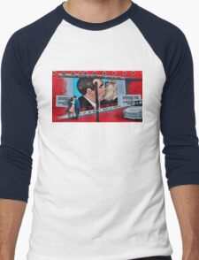 Letter from berlin Men's Baseball ¾ T-Shirt