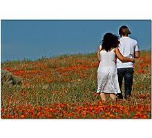 Sheer Springtime Photographic Print