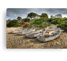 Freycinet Boats Canvas Print