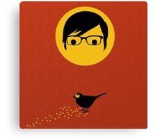 Chito The Bird  Canvas Print