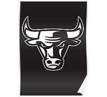Chicago Bulls - Black & White Poster
