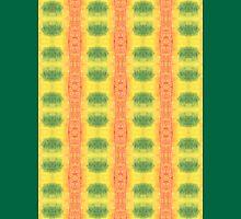 green and orange geo Unisex T-Shirt