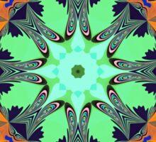 Colour and Pattern Mandala Sticker
