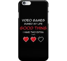 Extra lives iPhone Case/Skin