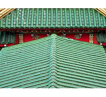 Chinese roof Photographic Print