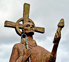 St Cuthbert by Carol Bleasdale