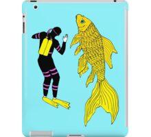 Deep Sea Goldfish Diver  iPad Case/Skin