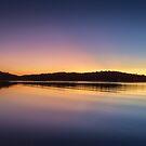 A cold night on Lake Lanier (I) by Bernd F. Laeschke