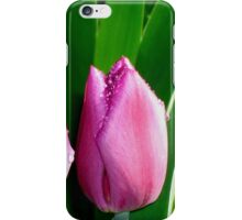 Tulips in the Rain iPhone Case/Skin