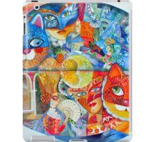 Venice cats carnaval iPad Case/Skin