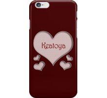 Keatoya Happy Valentines Day iPhone Case/Skin