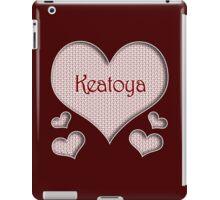 Keatoya Happy Valentines Day iPad Case/Skin